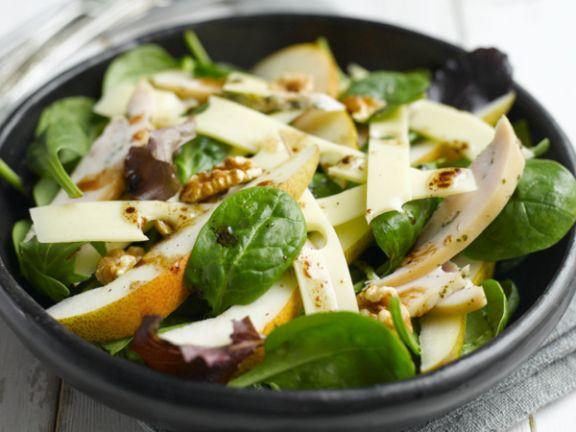 Salat mit Jarlsberg