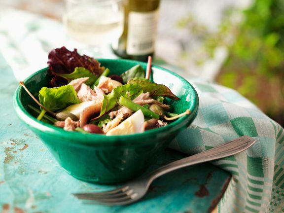 Salat Nizza mit Thunfisch