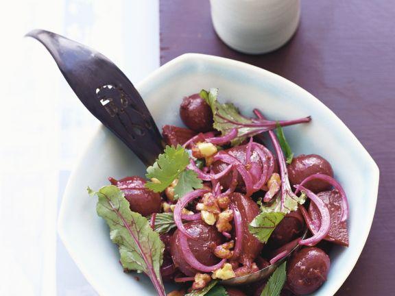 Salat von Roter Bete