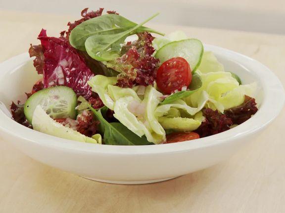 Salatdressing herstellen