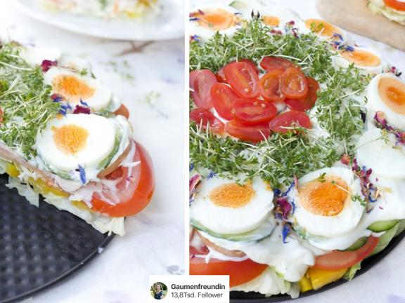 Salattorten