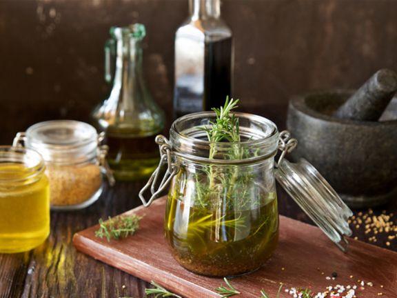 Salatzutaten für die Fettverbrennung