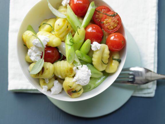 Salbei-Gemüse-Gnocchi