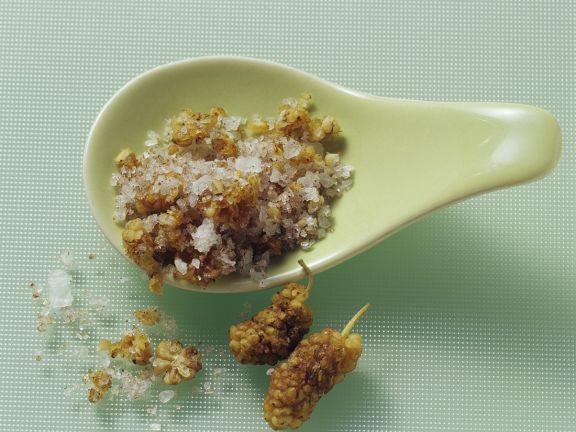 Salz mit Kümmel, Piment & Maulbeeren
