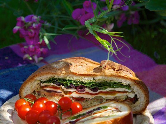 Sandwichklassiker Muffuletta