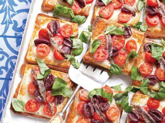Sardellen-Tomaten-Toast