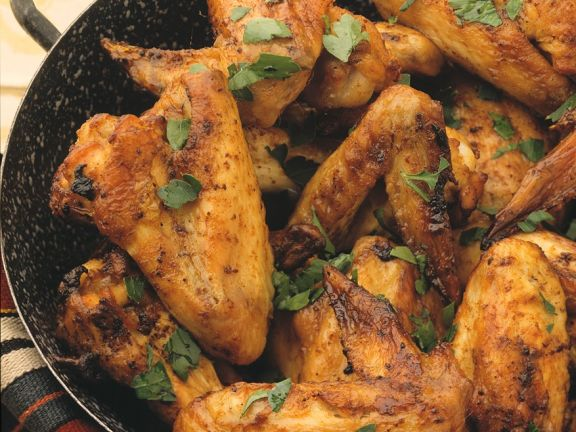 Scharfe Chicken Wings