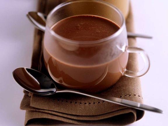 Scharfe heiße Schokolade