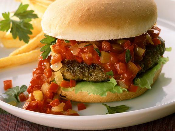 Scharfer Burger