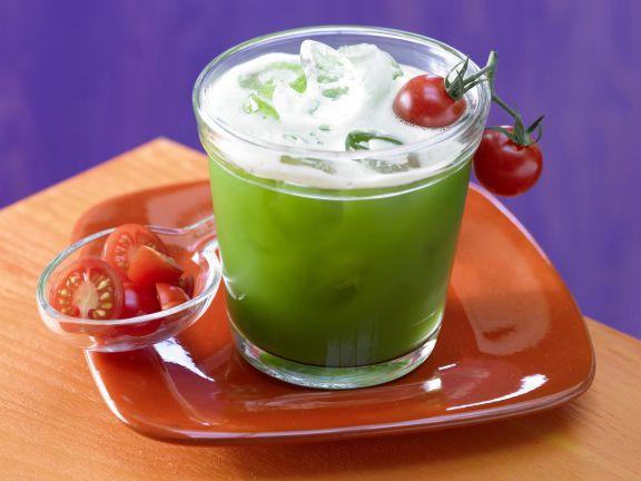Scharfer Gemüse-Cocktail