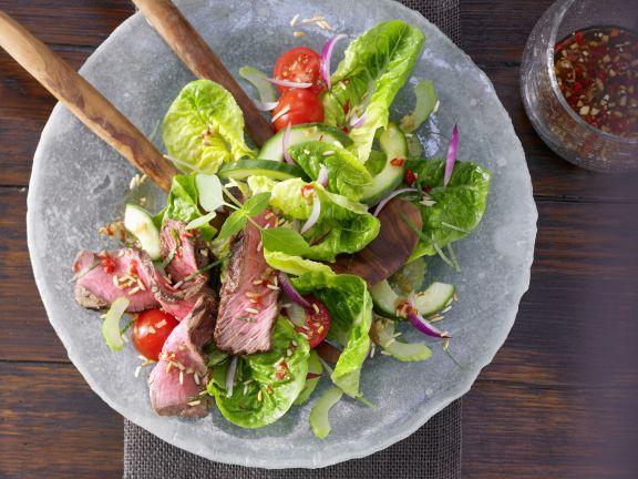 Scharfer Thai-Salat