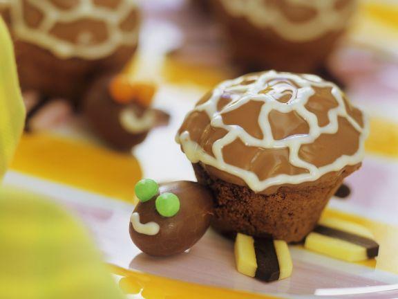 Schildkröten-Muffins