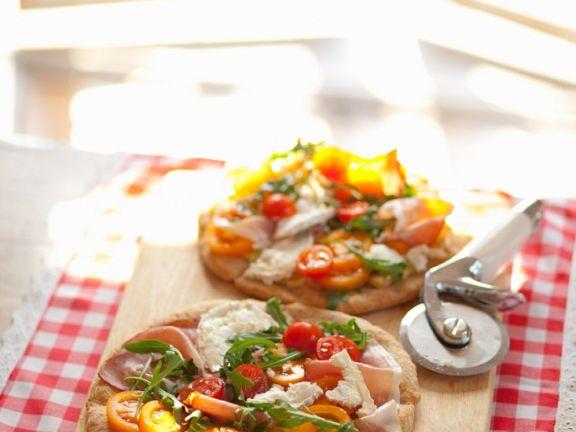 Schinken-Käse-Pizza