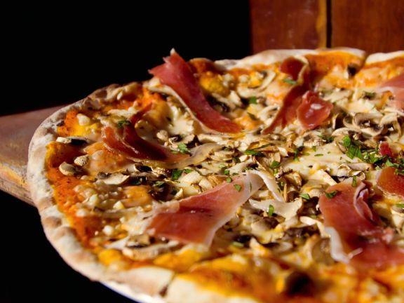 Schinken-Pizza