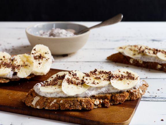 Schoko-Bananen-Brotaufstrich