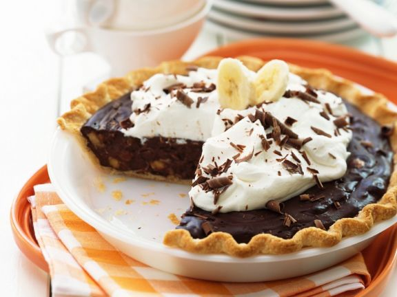 Schoko Bananen Kuchen Mit Schlagsahne Rezept Eat Smarter