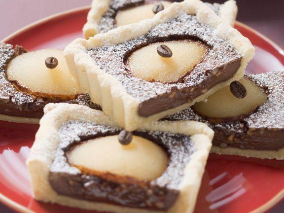 Schoko Birnen Kuchen Rezept Eat Smarter