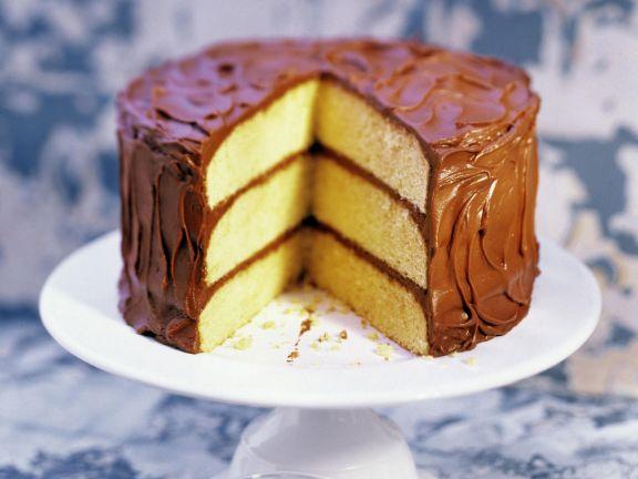 Schoko-Biskuit-Torte