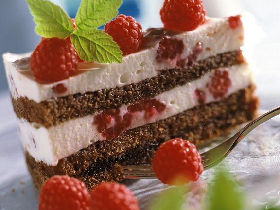 Schoko Himbeer Joghurt Torte Rezept Eat Smarter