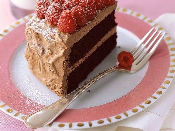 Schoko Himbeer Torte Rezept Eat Smarter