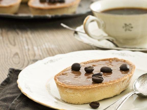 Schoko-Kaffee-Tartelett