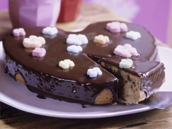Schoko-Karamell-Kuchen