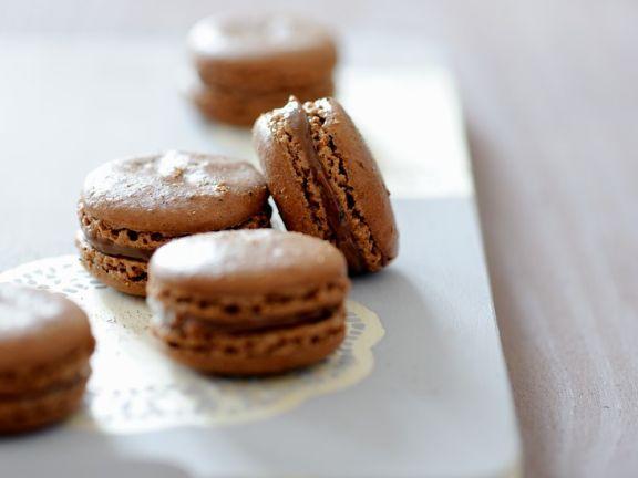 Schoko-Macarons