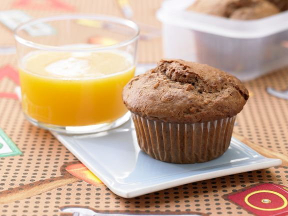 Schoko-Muffins mit Haferflocken
