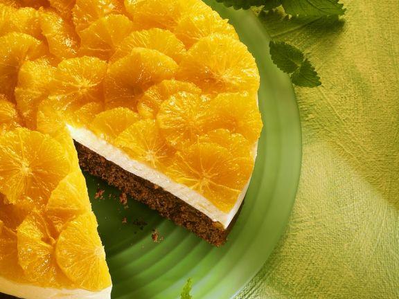 Schoko-Orangenkuchen