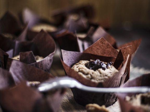 Schoko-Walnuss-Cupcakes