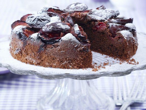 Schoko Zwetschgen Kuchen Rezept Eat Smarter