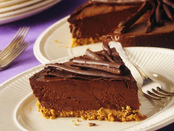 Schokokuchen Mit Keksboden Rezept Eat Smarter