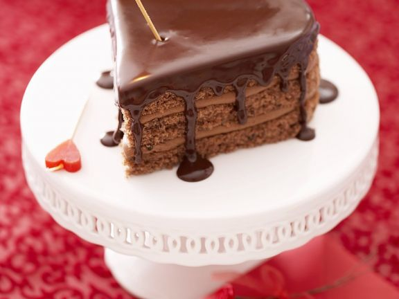 Schokoladen Herzkuchen Rezept Eat Smarter