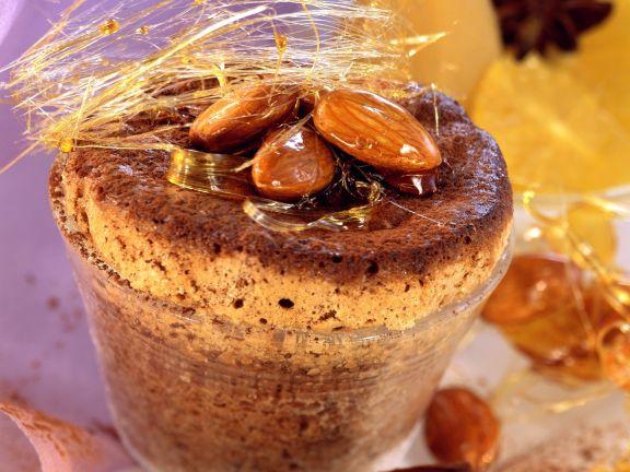 Schokoladen-Nuss-Soufflee