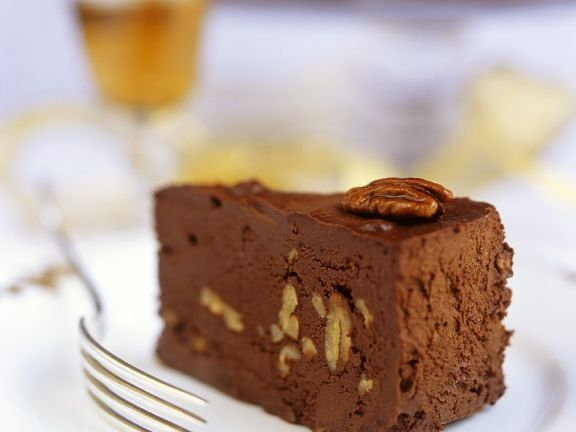 Schokoladen-Nusstorte