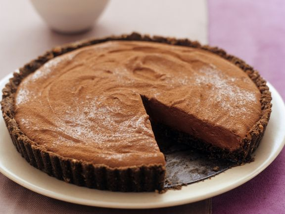 Schokoladenmousse-Kuchen