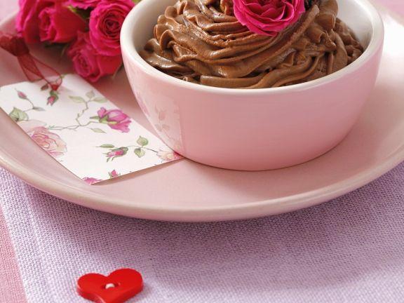 Schokoladenmousse mit Trüffel