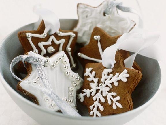 Schokoladenplätzchen mit Verzierung