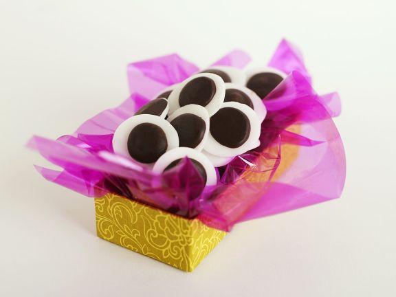 Schokoladenpralinen mit Minze