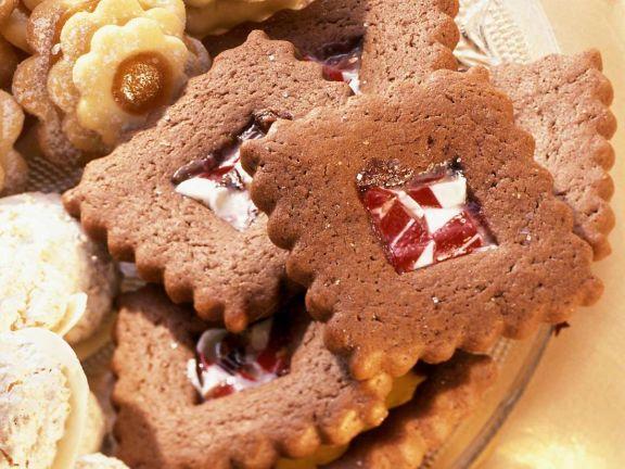 Schokoladenquadrate