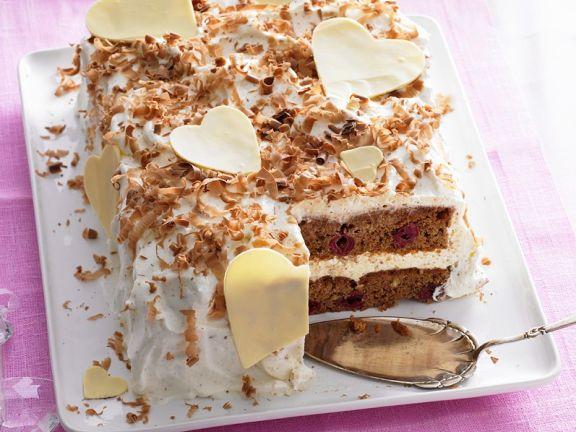 Schokoladenkuchen Mit Kirschen Rezept Eat Smarter