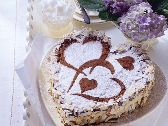 Schokoladentorte mit Mascarponecreme