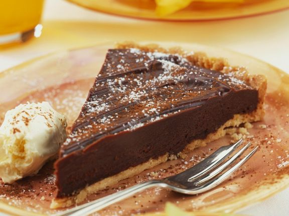 Schokotarte Mit Eis Rezept Eat Smarter