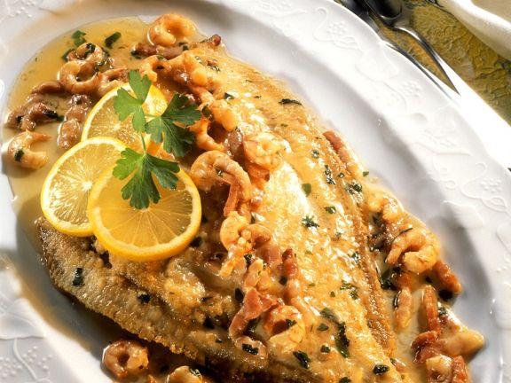 Scholle Mit Krabben Rezept Eat Smarter
