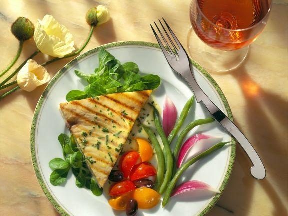 Schwertfischsteaks mit Tomaten