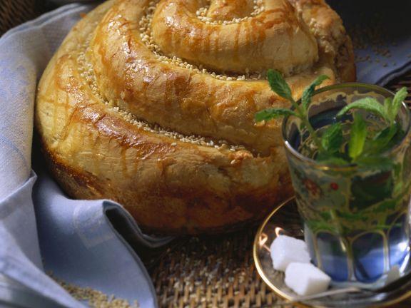 Sesambrot nach türkischer Art