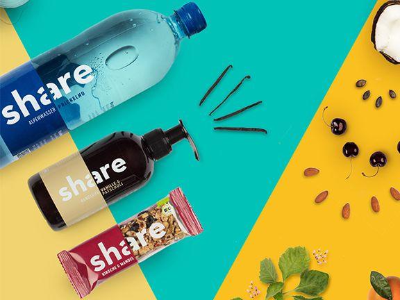 Produkte des Start-ups share