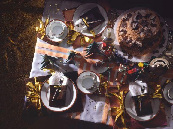 Sherry-Nougat-Torte