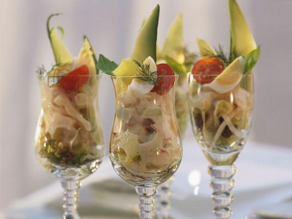 Shrimps-Cocktail