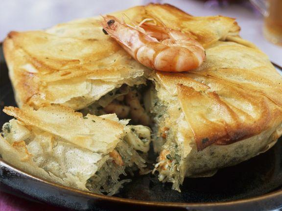 Shrimps-Pastete auf marokkanische Art